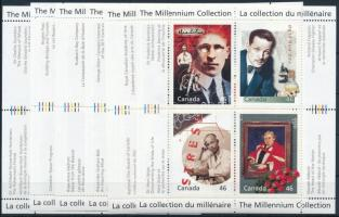 Millenium mini sheet set, Millenium kisívsor