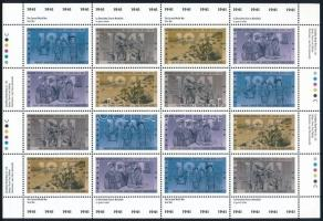 War complete sheet Háború teljes ív