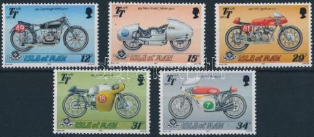 Motorcycles set + block, Motorok sor + blokk