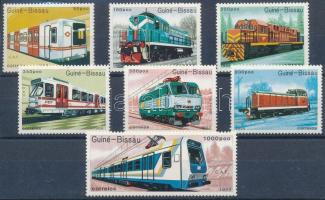 Railway vehicles set Vasúti járművek sor