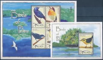 Birds mini sheet + block Madarak kisív + blokk