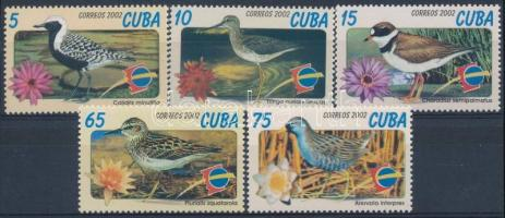 ESPANA stamp exhibition set, Nemzetközi bélyegkiállítás ESPANA; Salamanca - Madarak sor