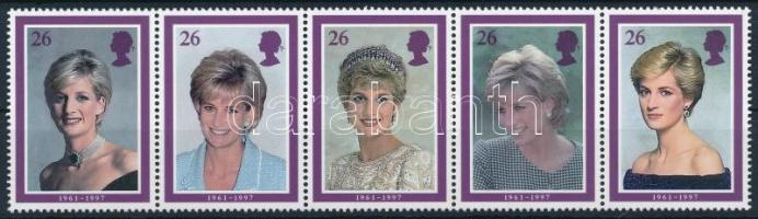 Princess Diana stripe of 5, Diana hercegnő ötöscsík