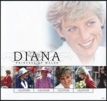 Princess Diana mini sheet, Diana hercegnő kisív