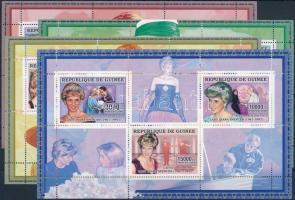 2006 Diana hercegnő blokk sor Mi 4329-4340