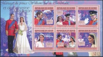 Prince William mini sheet, Vilmos herceg kisív