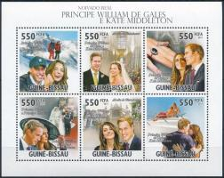 Prince William mini sheet Vilmos herceg kisív