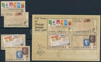 Stamp Exhibition set + block Bélyegkiállítás sor + blokk