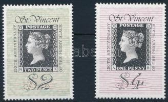 150th anniversary of stamp, Black Penny set 150 éves a bélyeg, Black Penny évforduló sor