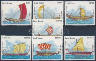 Ship set, Hajók sor