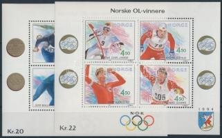 1990-1993 Olympics 2 diff block, 1990-1993 Olimpia 2 klf blokk