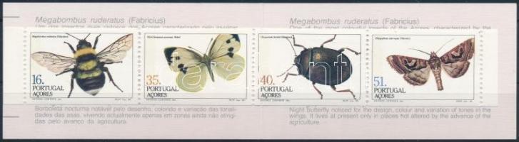 Insects stamp booklet, Rovarok bélyegfüzet
