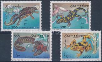 Amphibia set, Kétéltűek sor