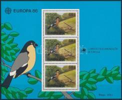 Europe CEPT, nature protection block, Europa CEPT, természetvédelem blokk