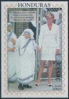 Princess Diana's death anniversary block Diana hercegnő halálának évfordulója blokk