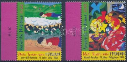 World Day of Peace margin set, A béke világnapja ívszéli sor