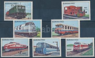 Locomotives set Mozdonyok sor