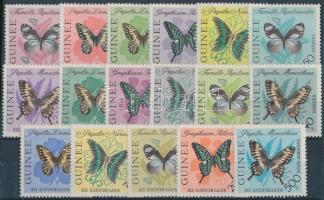 Definitive: Butterflies set, Forgalmi: Lepkék sor