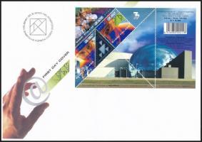 Science block FDC Tudomány blokk FDC-n