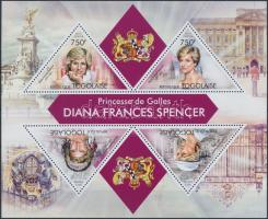 Princess Diana block Diana hercegnő blokk