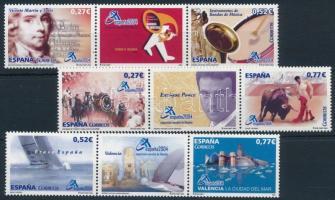 ESPANA'04 Stamp Exhibition 3 stripes of 3 ESPANA'04 Bélyegkiállítás: 3 db hármascsík