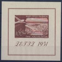1951 Zefiz bélyegkiállítás blokk Mi 5