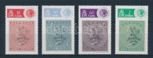 Stamp World LONDON Stamp Exhibition set Stamp World LONDON bélyegkiállítás sor