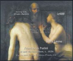 2000 Nemzetközi bélyegkiállítás, ESPANA: Madrid Festmények blokk Mi 473