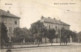 Miskolc, Rudolf gyalogsági laktanya