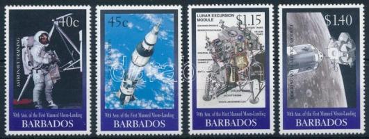 30th anniversary of the first manned Moon-Landing set 30 éve járt az első ember a Holdon sor