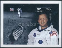 30 éve járt az első ember a Holdon blokk, First man on the Moon block