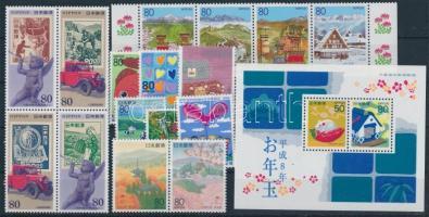 16 stamps + block 16 klf bélyeg + blokk
