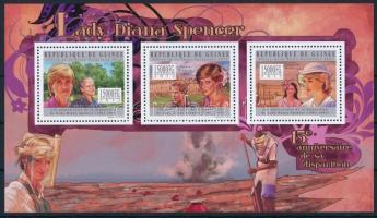 Princess Diana's death anniversary mini sheet Diana hercegnő halálának 15. évfordulója kisív