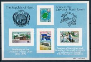 Centenary of UPU block 100 éves az UPU blokk