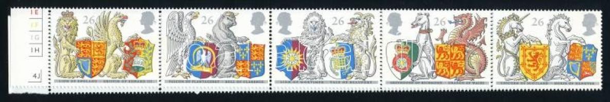 Coat of arms stripe of 10, Címerek tízescsík