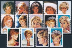 First anniversary of Princess Diana's death set, Diana hercegnő halálának első évfordulója sor