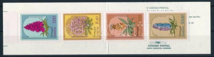 Flowers stamp-booklet Virágok bélyegfüzet