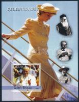 Famous people, Princess Diana block Híres emberek, Diana hercegnő blokk