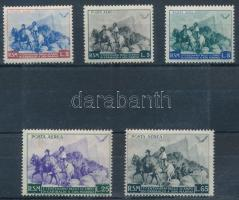 Garibaldi set (25L stain) Garibaldi sor (25L rozsda)