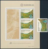 Europa CEPT: Great inventions of mankind + block Europa CEPT: Az emberiség nagy találmányai + blokk