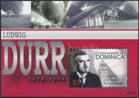 50th anniversary of Ludwig Dürr's death block, 50 éve hunyt el Ludwig Dürr blokk