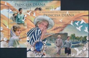 Princess Diana mini sheet + block Diana hercegnő kisív + blokk