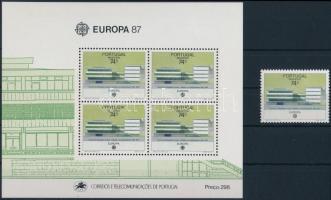 Europa CEPT: Modern architecture + block, Europa CEPT: Modern építészet + blokk