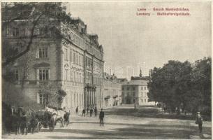 Lviv, Lwów, Lemberg; Gmach Namiestnictwa / Statthaltereigebäude / governors office building (EK)