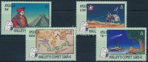 1986 Halley-üstökös sor Mi 687-690