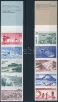 1974 - 1977 4 stamp-booklets 1974 - 1977 4 klf Bélyegfüzet