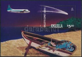 1986 Halley-üstökös blokk Mi 67