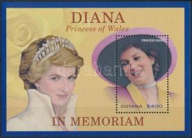 6th anniversary of Princess Diana's death block, Diana hercegnő halálának 6. évfordulója blokk