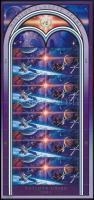 Űrkutatás kisív, Space research minisheet