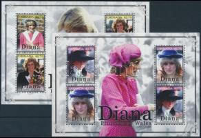 Princess Diana mini sheet set, Diana hercegnő kisív sor